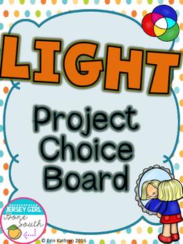 Light Project Choice Board