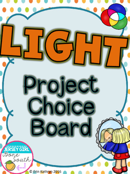 Light Project Choice Board