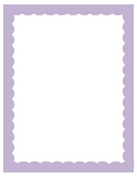 Light Purple Border