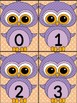 Light Purple Owl Math Number Flashcards 0-100