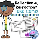 Light- Reflection or Refraction? Task Cards