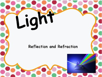 Light (Refraction and Reflection) Powerpoint
