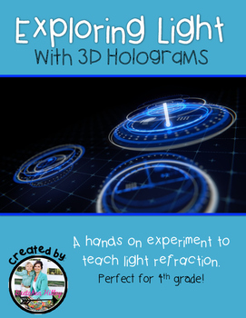 Light Refraction with 3D Holograms