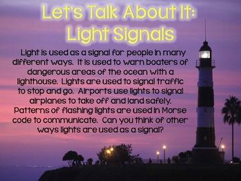 Light Signals STEM