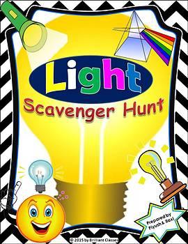 Light Scavenger Hunt Activity