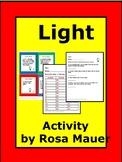 Light Unit Science Task Cards
