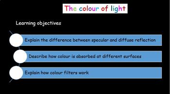 Light - Seeing colour
