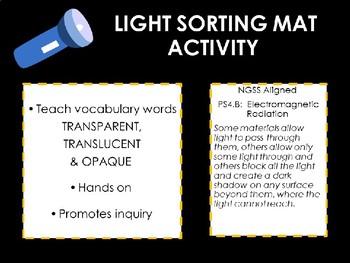Light Sorting Activity