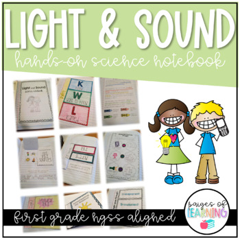Light & Sound Hands On Science Notebook