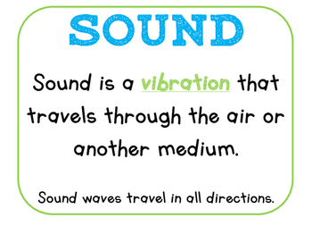 Light & Sound Posters