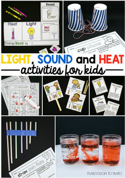 Light, Sound and Heat Activity Pack