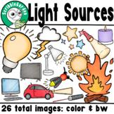 Light Sources Clipart