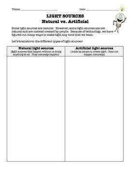 Light Sources: Natural vs. Artificial