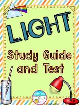 Light Study Guide & Test
