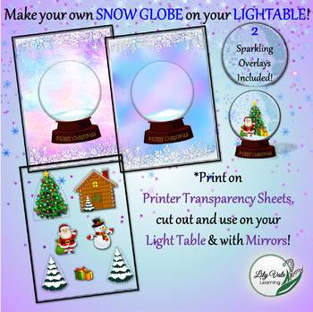 Light Table Explorations HOLIDAY BUNDLE by LilyVale Learning
