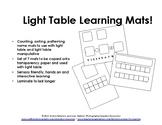 Light Table Learning Mats