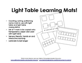 Light Table Learning Mats