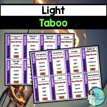 Light Vocabulary Review Game