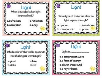 Light Task Cards