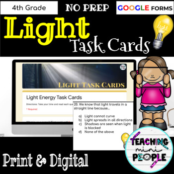 Light Task Cards