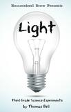 Light (Third Grade Science Experiments)