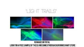 """Light Trails"" Background Pack."
