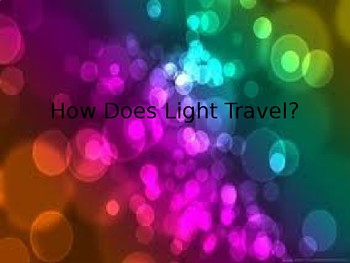 Light Travel PowerPoint