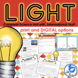Light Unit with Informational Text, Print and Digital Dist