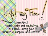 Light Up Nouns, Adjectives and Verbs Pack