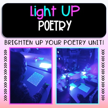Light Up Poetry! ~ A fun alternative to Black Out poetry (blackout or found poem