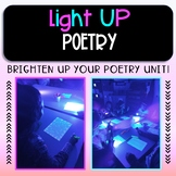 Light Up Poetry! ~ A fun alternative to Black Out poetry (