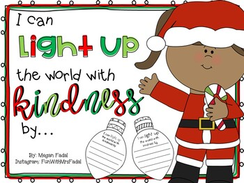 Light Up The World With Kindness Template