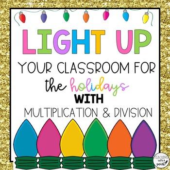Multiplication & Division [December Bulletin Board]