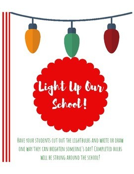 Light Up Your School: Holiday School-Wide Project for Kindness