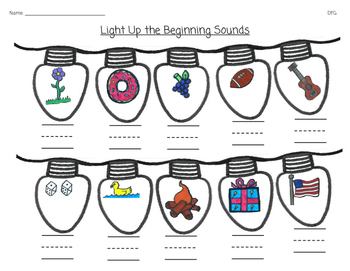 Light Up the Beginning Sound