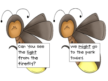 Light Up the Night Sentence Reading Kit