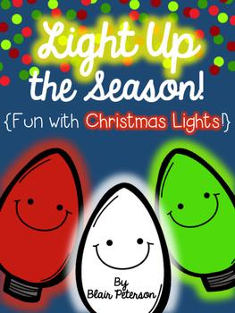 Light Up the Season {Fun with Christmas Lights}