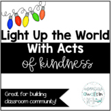Light Up the World With Kindness Activity