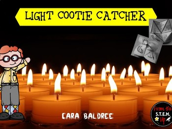 Light Vocabulary Cootie Catcher