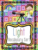 Light Vocabulary Sort