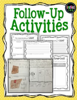 Light Waves - experiments and informational text
