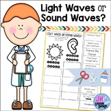 Light Waves or Sound Waves? Cut and Paste Sorting Activity