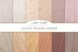 Light Wood Background Textures Digital Paper scrapbook white wood grain