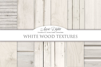 Light Wood Background Textures Digital Paper scrapbook whi
