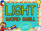 Light Word Wall