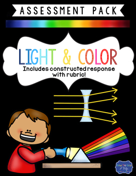 Light and Color Assessment with Constructed Response