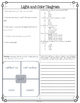 Light and Color Diagram and Comprehension Questions