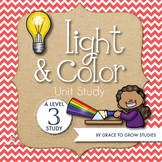 Light and Color Lapbook or Interactive Notebook (3rd-5th Grade)