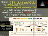 Light and Color PowerPoint