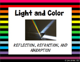 Light and Color: Reflection, Refraction and Absorption Presentation